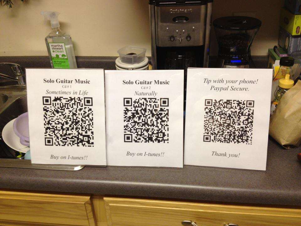 MAKE MONEY Using QR Codes for the Indie Musician | Lance
