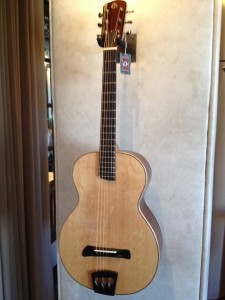 handmade acoustic guitar instrument